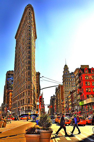Photo ofr Flatiron Building in New York