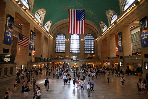 A Photo of Grand Central Station, New York