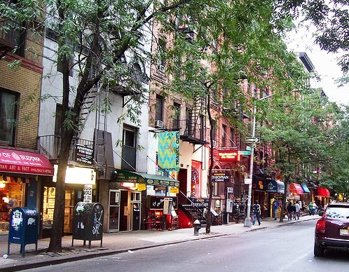 Photo of MacDougal Street, Greenwich Village, Manhattan, New York