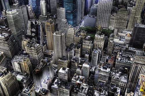 Photo of Midtown with Bryant Park, Manhattan, New York