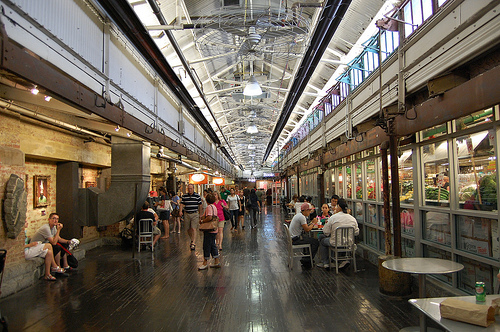 A Photo of Chelsea Market, New York