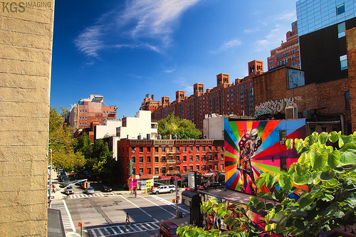 Photo of New York from The HighLine