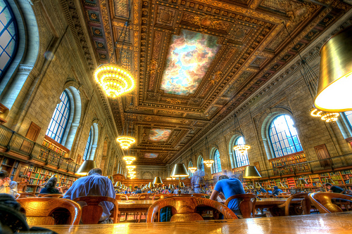 The Quiet Room, New York Public Library, Manhattan, New York
