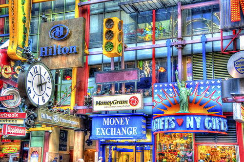 A Photo of Times Square, Manhattan, New York