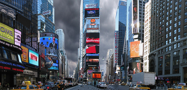 A Photo of Times Square, New York