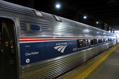 Amtrak Train at Union Station, Washington, D.C.