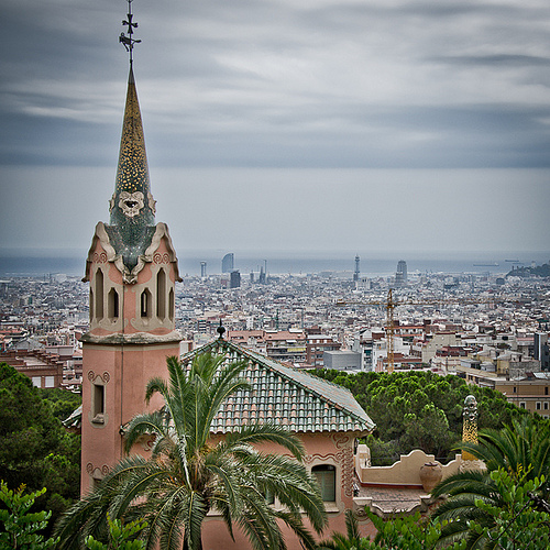 Photo of Barcelona from Parc Güell