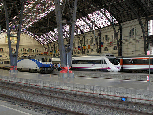 Photo of Franca Railway Station in Barcelona, Spain