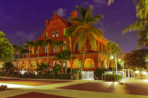 Key West in the Evening, Florida