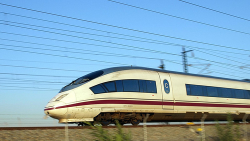 Photo of a Renfe AVE Fast Train