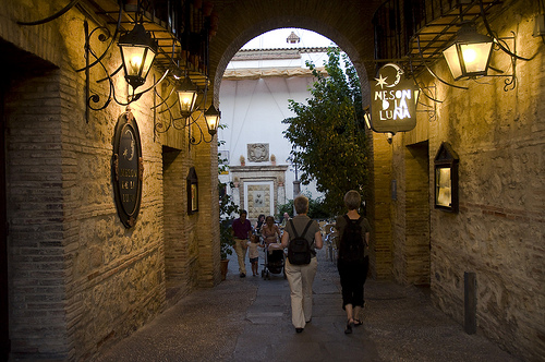 Photo of Calle de la Luna in Córdoba, Spain