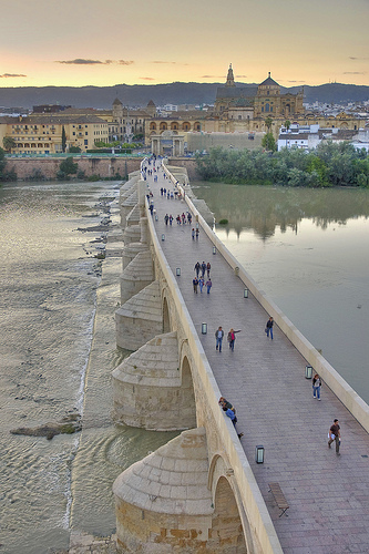 Photo of Puente Romano in Córdoba, Spain