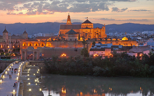 Punte Romano and The Mezquita, Córdoba, Andalusia