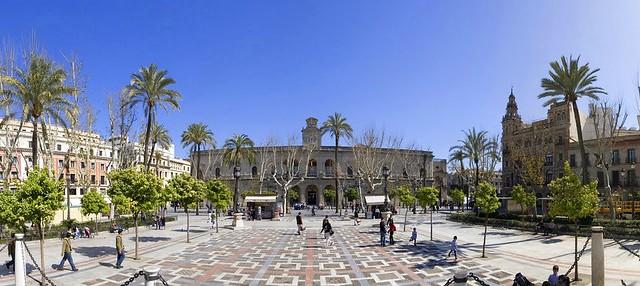 Plaza Nueva, Sevilla, Andalusia