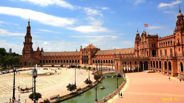 Plaza de España, Sevilla, Andalusia