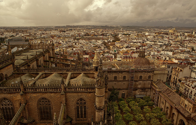 Photo of Sevilla from La Giralda