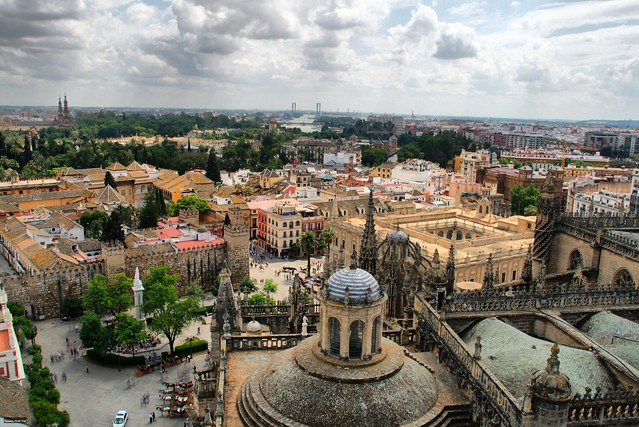 View of Sevilla from La Giralda, Sevilla, Andalusia