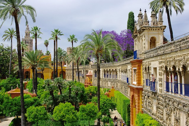 Visiting The Alcázar, Sevilla, Andalusia