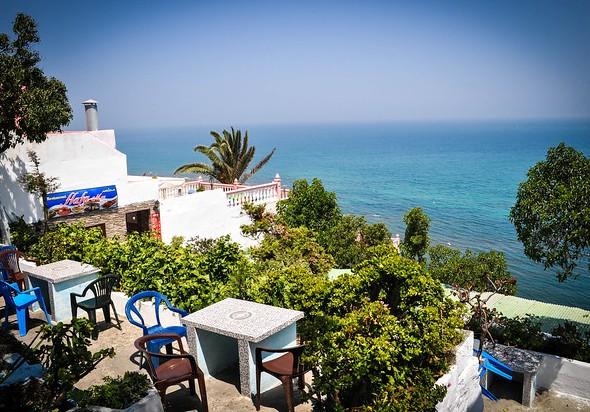 Café Hafa, Tanger, Morocco