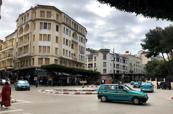 Place de France, Ville Nouvelle, Tanger, Morocco