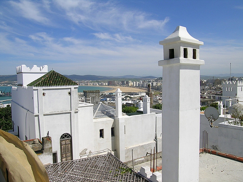 View from La Tangerina Rooftop, Tanger