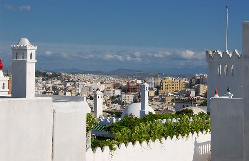 View of Tanger from the Kasbah, Morocco