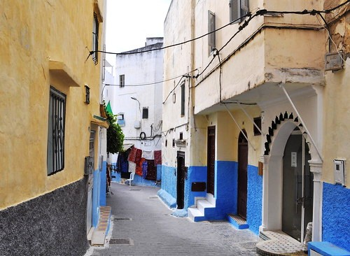 Walking in the Medina, Tanger, Morocco
