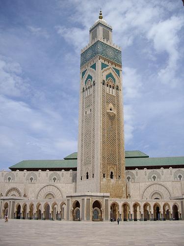 Mosque Hassan II, Casablanca, Morocco