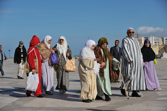 Photo near Mosque Hassan II, Casablanca, Morocco