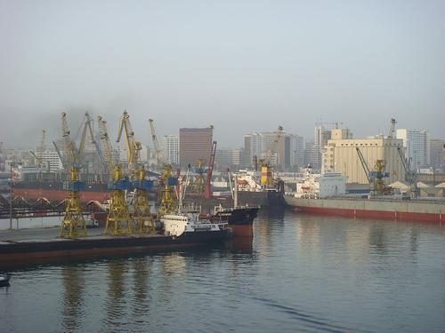 Photo of the Port of Casablanca