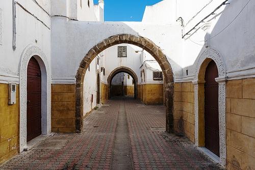 Quartier Habous, or Nouvelle Medina, Casablanca, Morocco