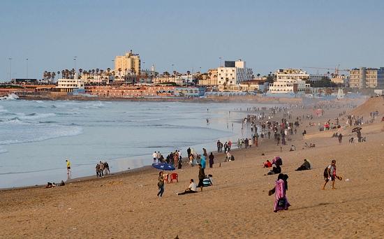 La Corniche et la Plage, Casablanca, Morocco