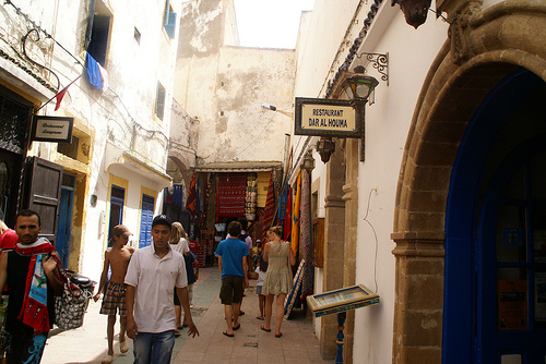 Photo of the Medina in Essaouira, Morocco