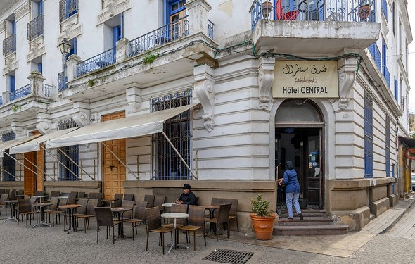 Hotel Central, Old Medina, Casablanca, Morocco