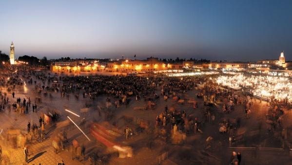 Photo of Jemaa El Fna in Marrakech, Morocco