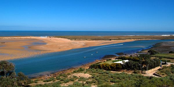 Oualidia Lagoon from Villa La Diouana, Morocco