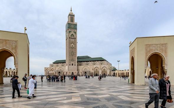 Visiting Mosque Hassan II, Casablanca, Morocco