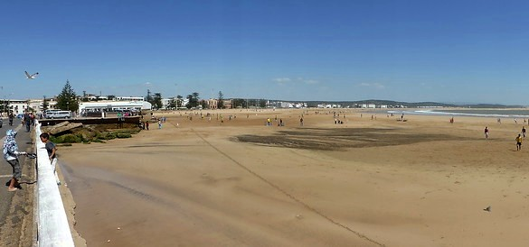 Beach of Essaouira, Morocco