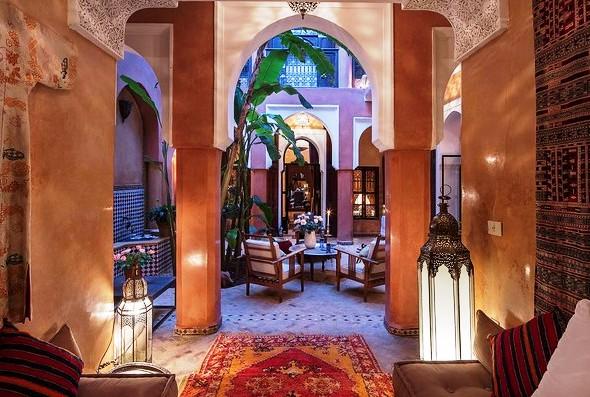Dar Attajmil, near Jemaa El Fna, Medina, Marrakech, Morocco