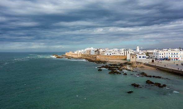 Essaouira and The Atlantic Ocean, Morocco