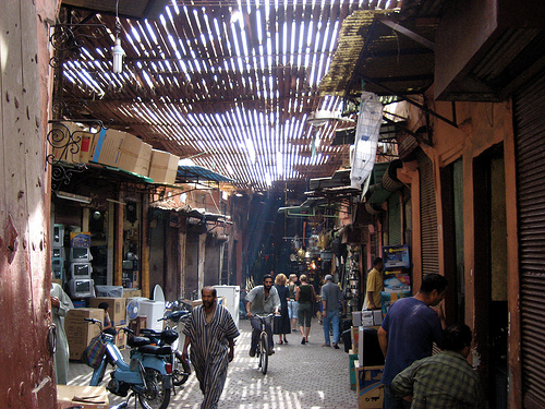 Photo of a Street in the Medina, Marrakech