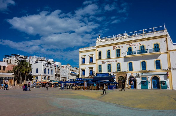 Place Moulay Hassan, Medina, Essaouira, Morocco
