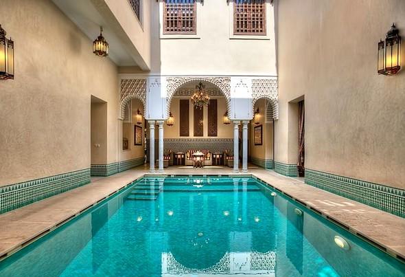 Riad Kniza, Bab Doukkala, Medina, Marrakech, Morocco