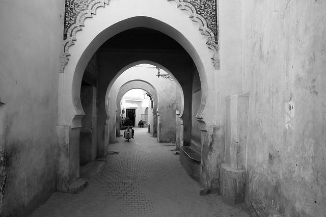Arches, Medina, Marrakech, Morocco