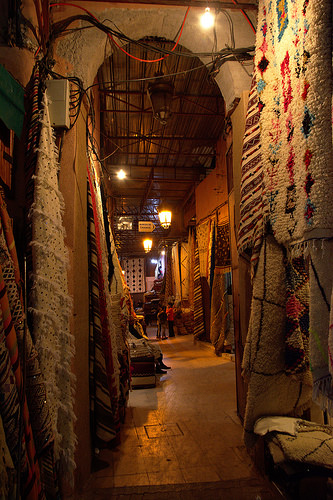 One of the Thousands Shops in the Centre of Marrakech in Morocco