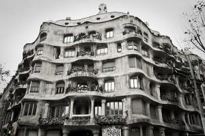 Casa Milá o La Pedrera, Barcelona