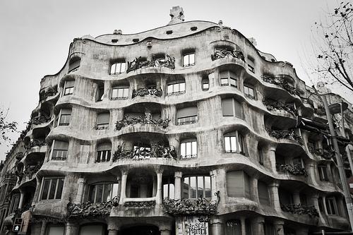 Casa Milà o La Pedrera, Barcelona, Spain