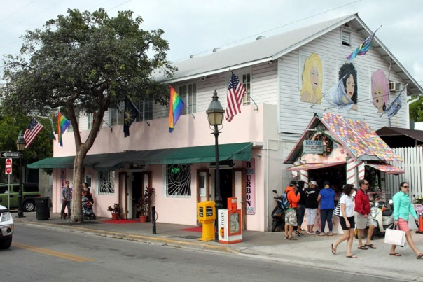 Passeggiando per Duval Street, Key West, Florida