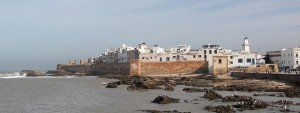 A View of Essaouira and the Ocean
