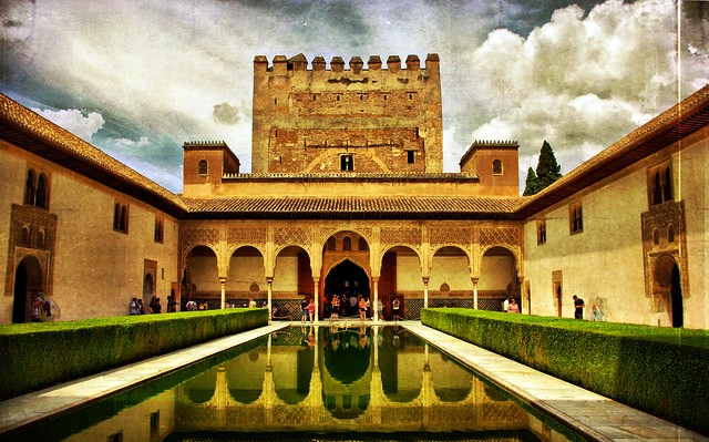 Palacios Nazaries, The Alhambra, Granada, Spain